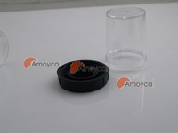 M26X0.706 Mitutoyo microscope Objective box vials- for M26 thread
