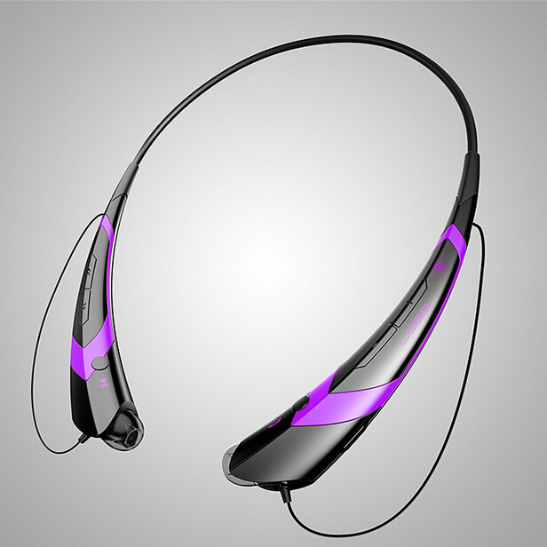 2015 fashion sports wireless bluetooth headset noise cancelling headphones running exercise. Black Bedroom Furniture Sets. Home Design Ideas