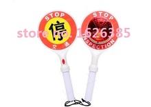 Professional quality LED handheld stop plate / traffic baton / traffic safety warning light / stop sign(China (Mainland))