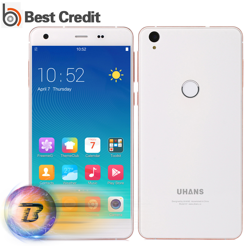 Presale Uhans S1 Smartphone Android 6.1 4G FDD-LTE 5.0inch Octa Core MTK6753 1.3GHz 13MP 3G RAM 32G ROM Uhans S1 Mobile Phone(China (Mainland))