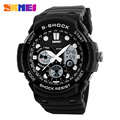 SKMEI 1205 Men Sport Dual Time Watch Outdoor Sports Watches Chronograph Alarm Clock Water Resistant Resin