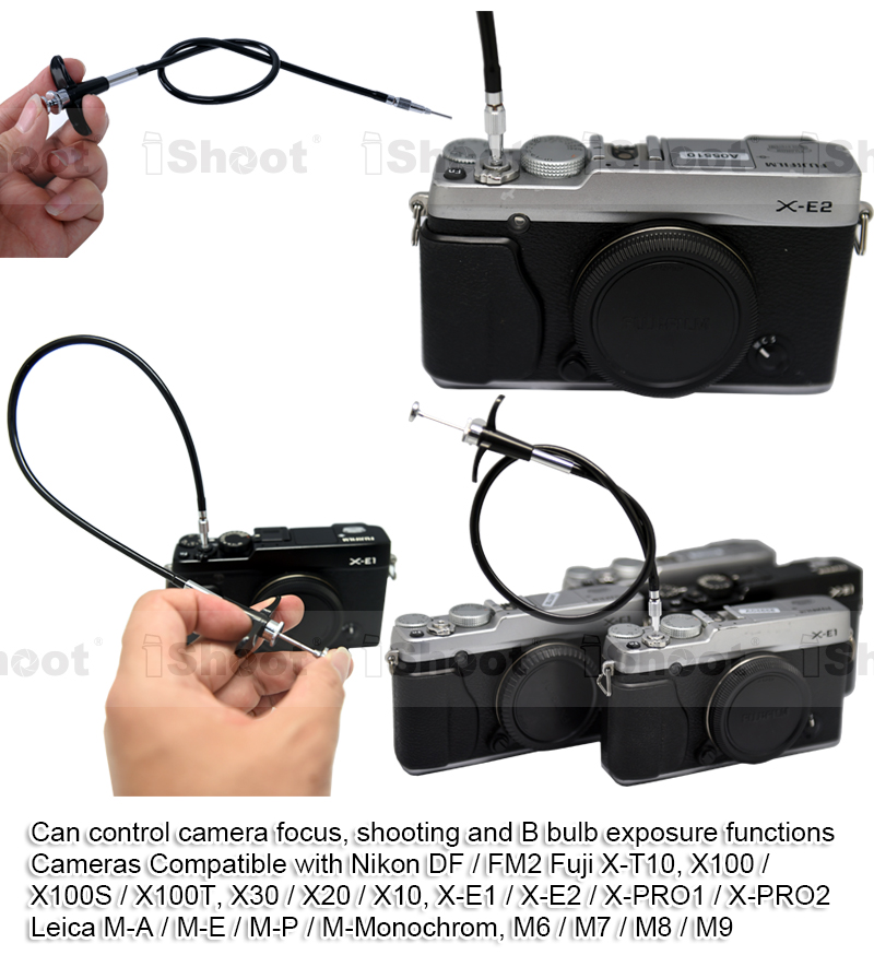 "image for 16"" Mechanical Camera Remote Control Cable Cord Support Focus, Shutte"