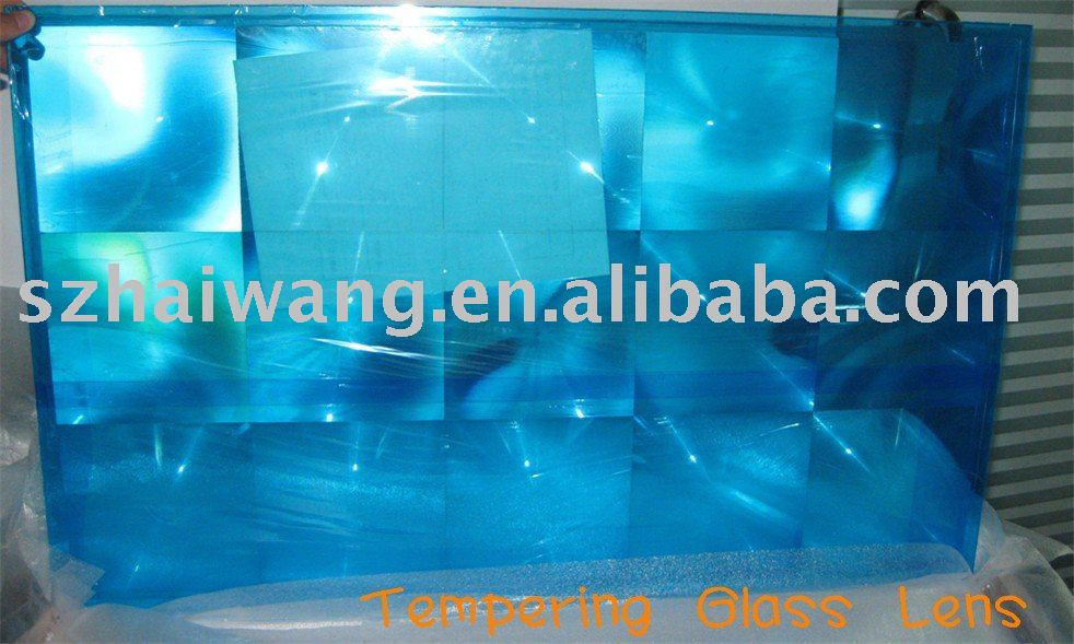 Free shipping of one piece 780*480 Hard Glass lens in CPV series(China (Mainland))