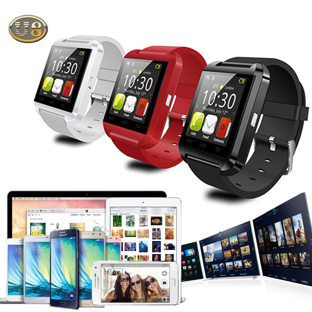 2015 New Bluetooth 4.1V Smart Watch WristWatch U8 U Watch for iPhone 4S/5/5S/6 for Samsung HTC Huawei LG Xiaomi Android Phone<br><br>Aliexpress