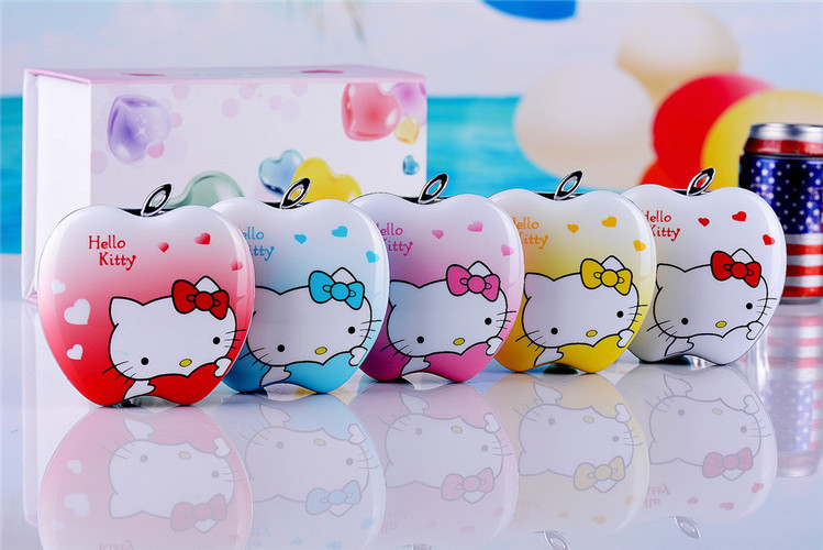 Hello Kitty 2014 new mini flip character super small pocket mobile phone F689 double card double stay lovely children(China (Mainland))
