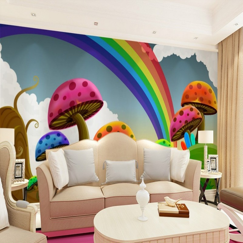 hohe qualit t freies regenbogen tapete werbeaktion shop. Black Bedroom Furniture Sets. Home Design Ideas