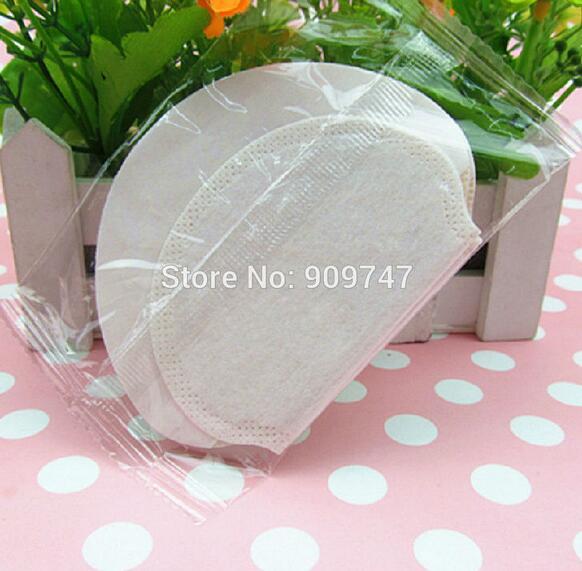 1 set=10pcs=5pair Disposable Pads guard absorbing sweat underarm deodorant armpit dress shield sheet sweating(China (Mainland))