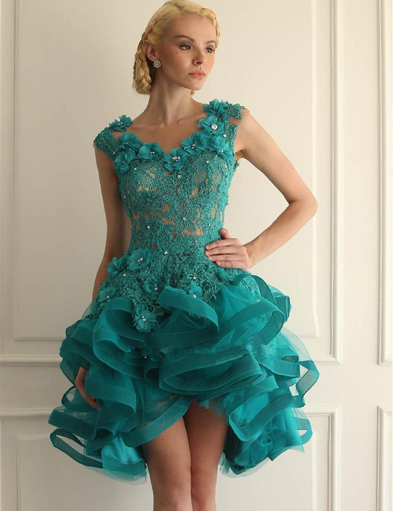Enchanting Fluffy Prom Dress Ensign - All Wedding Dresses ...