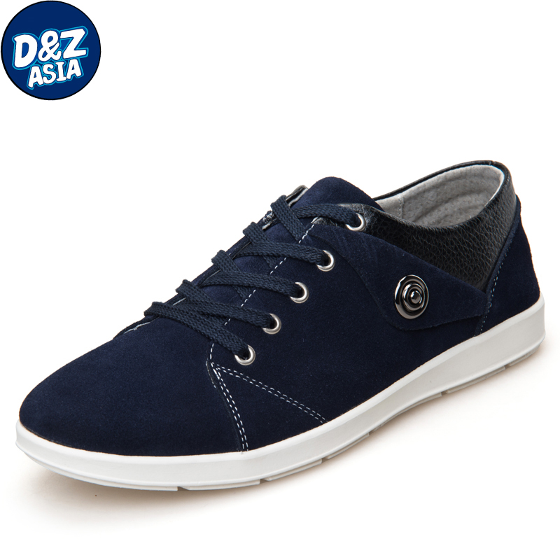 2014 autumn and winter genuine leather male casual shoes fashion trend of the male skateboarding shoes male shoes suede shoes