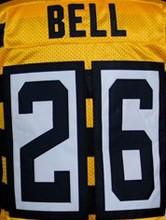 7 Ben Roethlisberger Jersey #26 LeVeon Bell Jersey #84 Antonio Brown Jersey 43 Troy Polamalu #50 Ryan Shazier Elite Jersey(China (Mainland))
