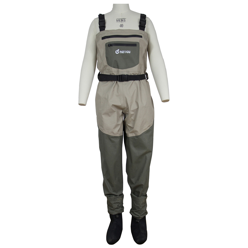 Stocking foot chest waders waterproof wadingpants or fly for Fly fishing waders