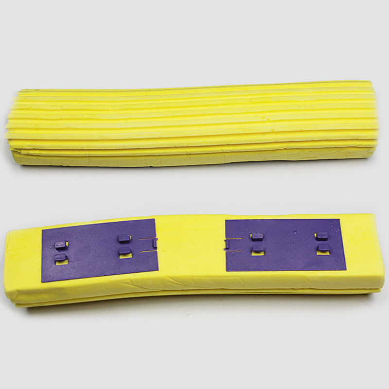 Roller Mop Replacement Water Absorbent Mop Head PVA Folding Type Magic Mop Heads Refill for Home Floor Cleaning Yellow(China (Mainland))