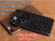 NC03 Crocodile patterm genuine leather hard case Asus Zenfone 2 Laser ZE500KL phone Laser(5.0') cover - XQTC store