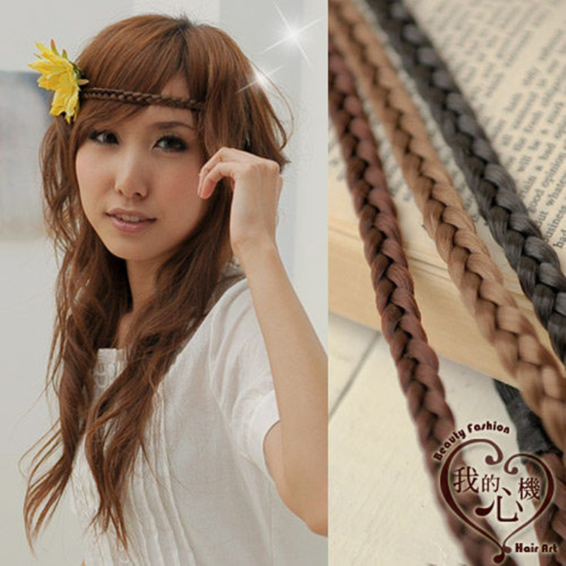 Wig Ponytail Holder Elastic Hait Hie Bands Rope Hairbands Hair Accessories Women Wholesale Black Brown Gold