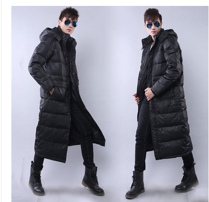 Free shipping !!!The man with long down jacket Male new winter thickening over-the-knee big yards down jacket to keep warm coatОдежда и ак�е��уары<br><br><br>Aliexpress