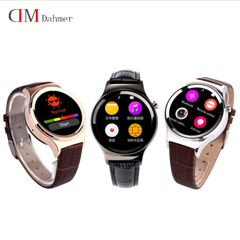 Фотография original New Arrival Smart Watch DM12 Smartwatch Support SIM SD Card Bluetooth WAP GPRS SMS MP3 MP4 USB For iPhone And Android