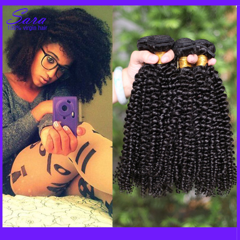 Brazilian Curly Hair 7A Brazilian Virgin Human Hair Weave 4 Bundles Afro Kinky Curly Hair Brazilian Kinky Curly Virgin Hair