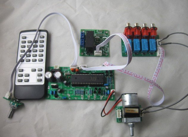 Интегральная микросхема HIFI  Remote Volume Control Preamp cs3310 remote preamplifier board with vfd display 4 way input hifi preamp remote control digital volume control board page 2