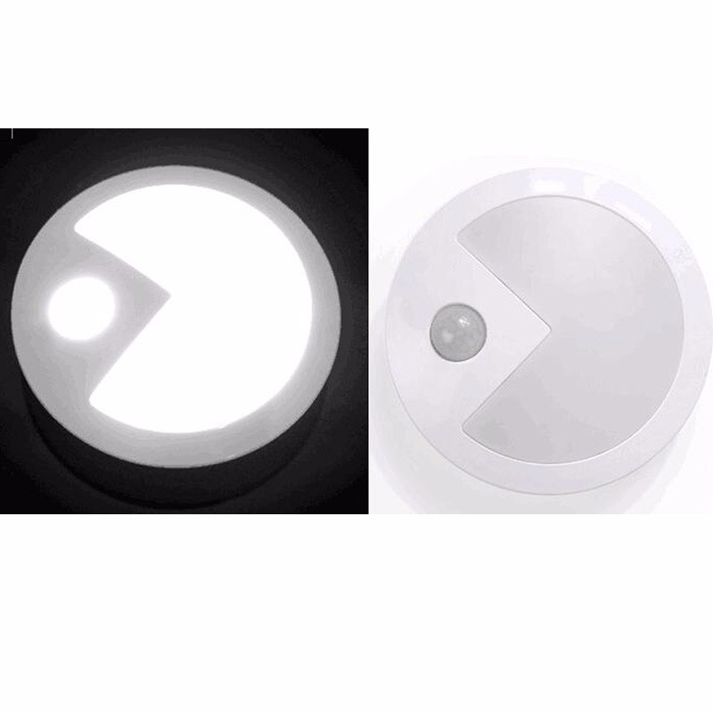 Human intelligent sensor light, intelligent infrared light induced acute light, free shipping