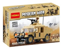 Decool 2111 Modern War Military Transport Carrier Minifigure Building Block Toys Action Figure Compatible With legao