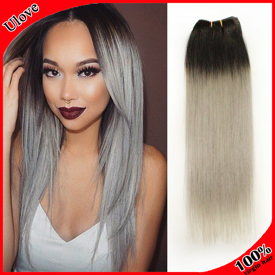 Dark Brown Ombre Hair Extensions 33