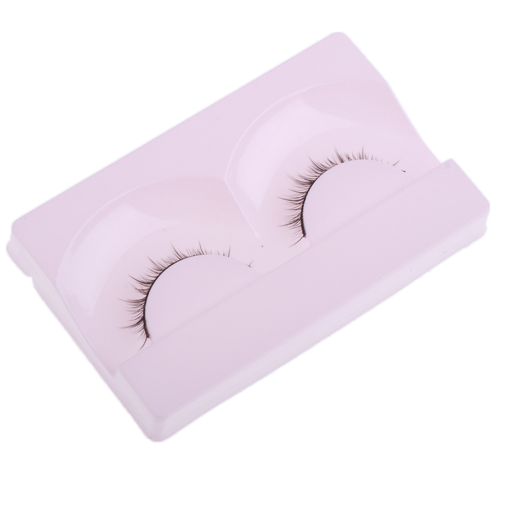 1 Pair Doll False Eyelashes for 1/4 BJD SD Night Lolita Doll Girls Costomizing DIY Crafts Makeup Accessory Eyelashes for Crafst