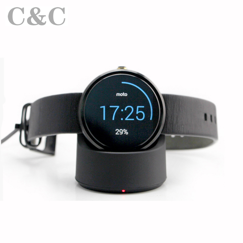 Wireless Charger for <font><b>motorola</b></font> moto360 <font><b>smart</b></font> <font><b>watch</b></font> wireless charging for MOTO360
