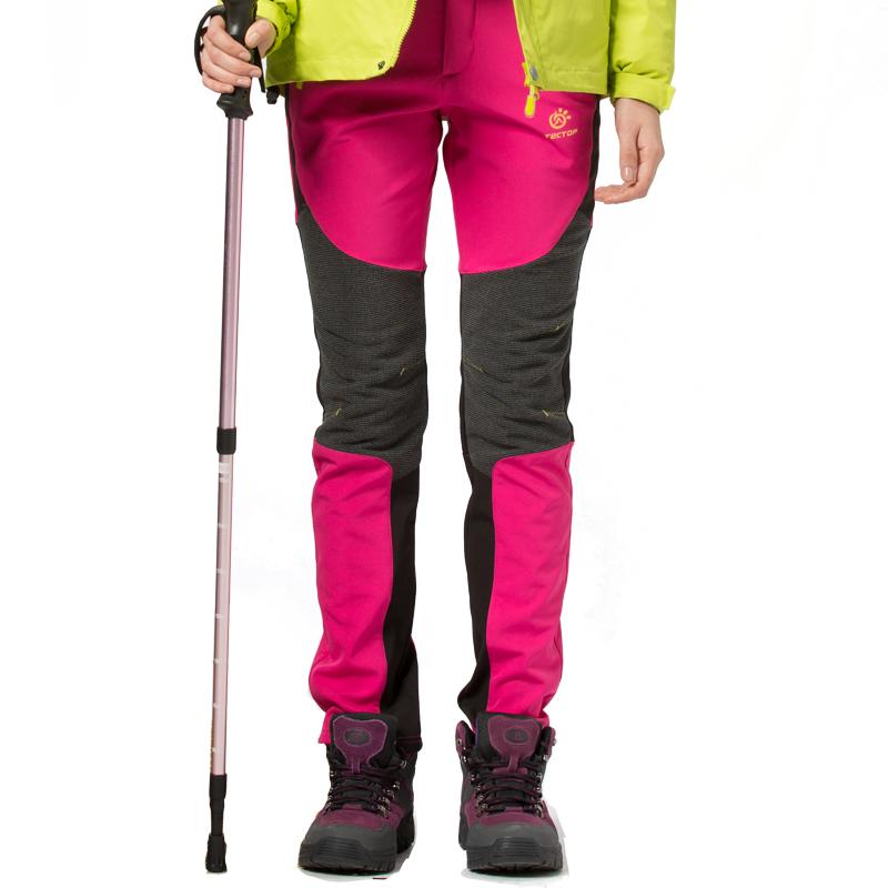 Dropshipping winter fleece pants women new arrival Ladies Fashion Slim Warm outdoor tekking Windproof Thicken Pants Trousers