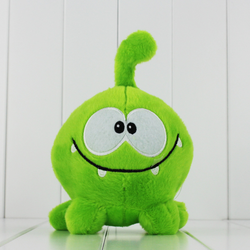 20cm cut the rope my Om Nom cartoon cut the rope stuffed and soft animal toys Plush toys free shiiping(China (Mainland))