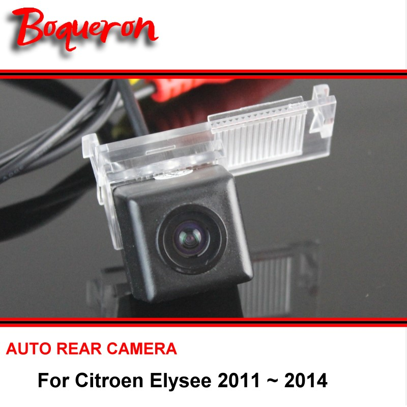 For Citroen Elysee 2011 ~ 2014 wire wireless / Car Backup Parking Camera / Reversing Rear View Camera / HD CCD Night Vision(China (Mainland))