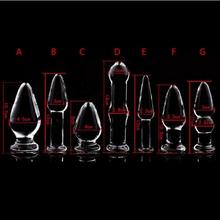 Анальный Секс-Игрушки Анальная пробка Анальный Плагин Секс Игрушки Для пары Продукты Секса Кристалл Анальный Взрослая Игрушка Секса Продуктов Кристалла Большой анальный(China (Mainland))