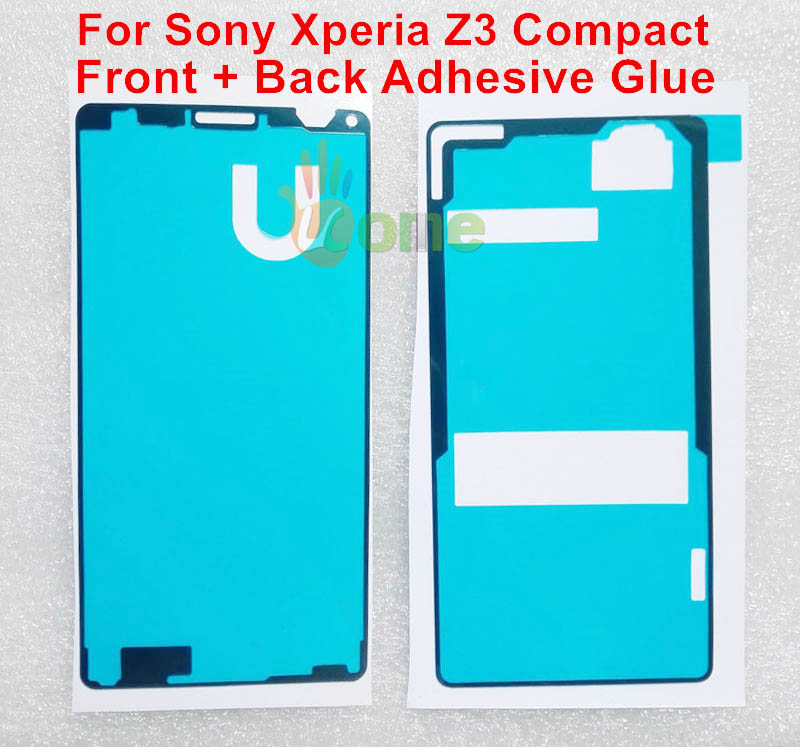 2PCS/SET Original LCD + Battery Back Cover Waterproof Sticker Adhesive Glue Tape Sony Xperia Z3 Compact M55W D5803 D5833 - YOU KIT Mobilephone Accessories store