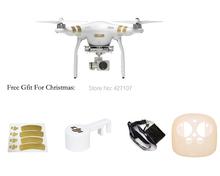 Fast Drop Shipping 100% Original Brand New DJI Phantom 3 Professional RC Drone W/4K Camera 3-Axis Gimbal + Useful Gifts Via EMS