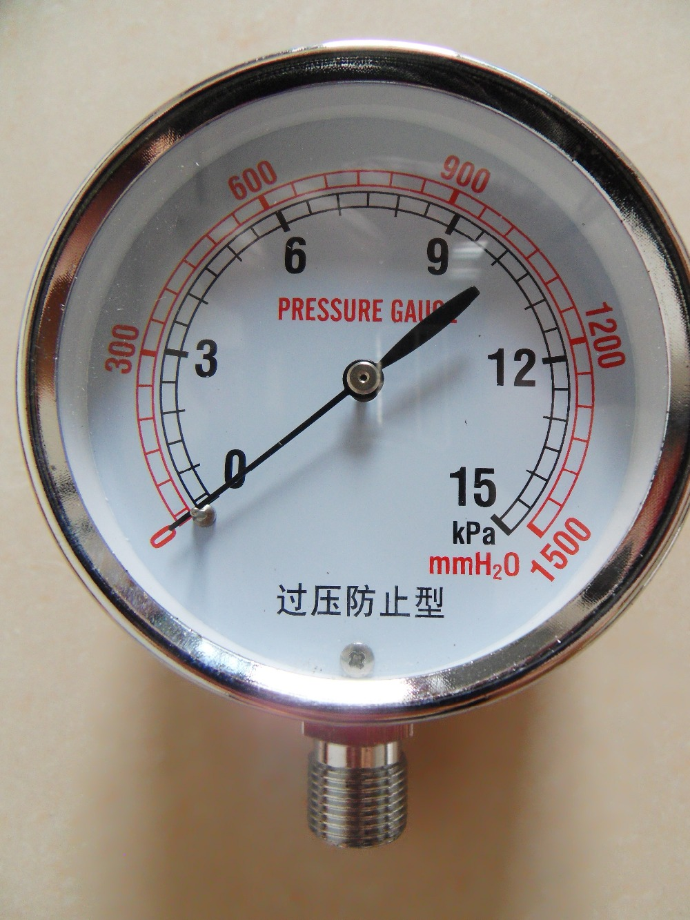 LPG&LNG gas pressure gauge for bbq pressure meter for ...