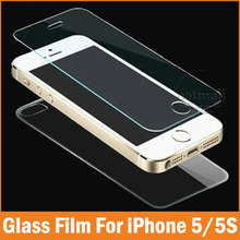 2PC=1Front+1Back 0.26mm Tempered Glass For Apple iPhone 5 5S 4 4S Screen Protector Film Full Body Glass On the For iPhone 5S SE
