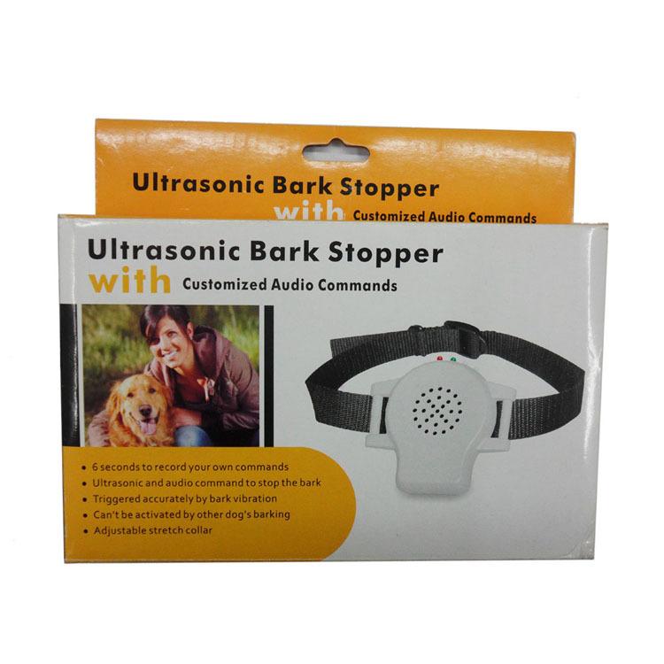 Wholesale High quality customized Audio commands ultrasonic bark stopper 903 Free shipping(China (Mainland))