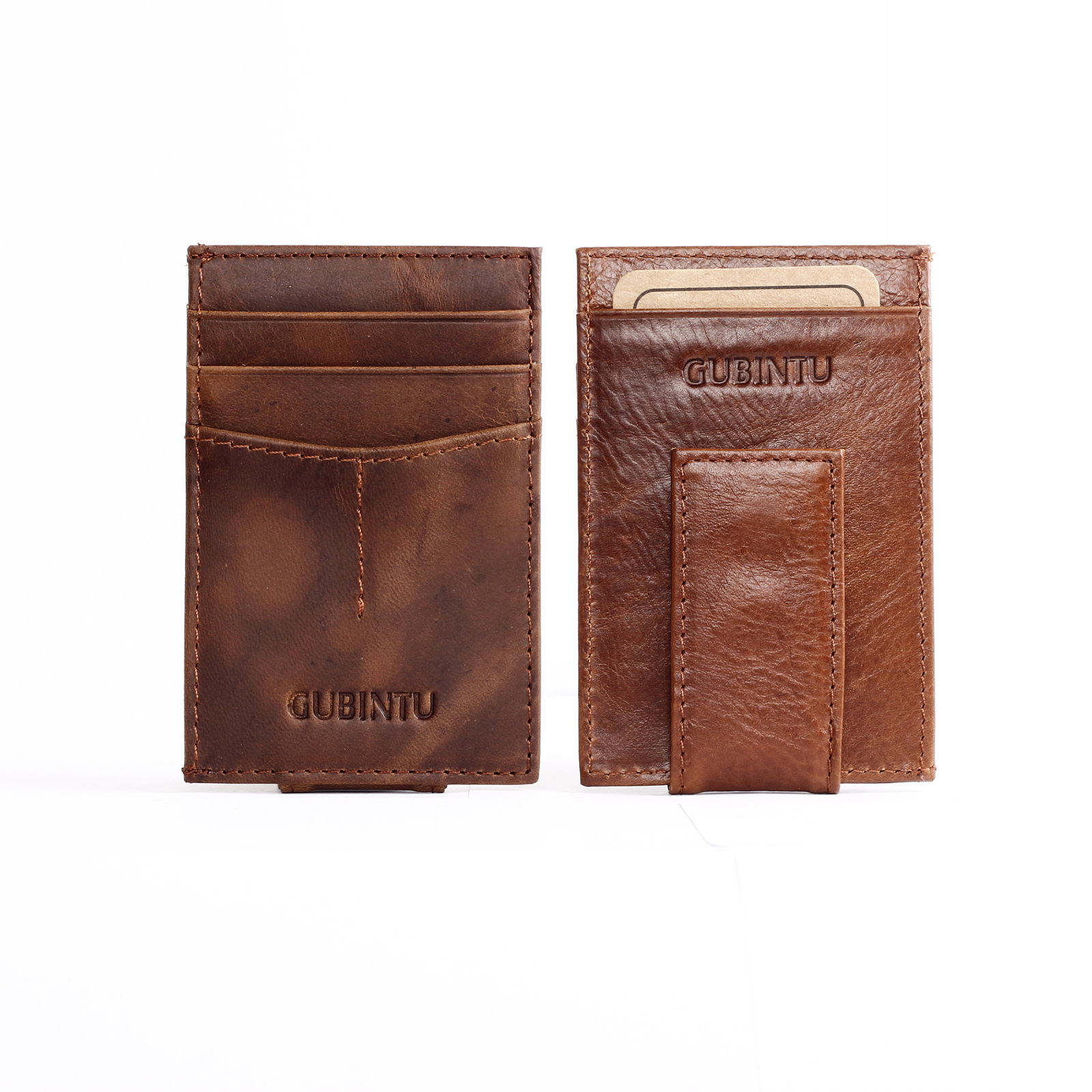 Free shipping pu leather card and money clips fashion New man Bifold New cheap designer square hy50(China (Mainland))