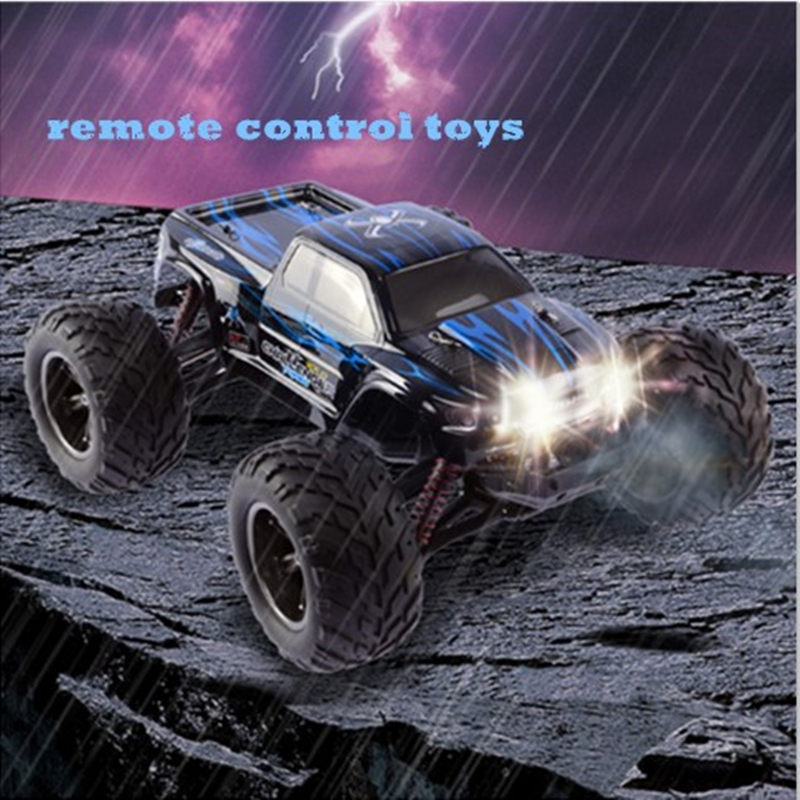 Фотография 2016 New Pro 2.4G 4CH 2WD RC Car Rock Crawlers 4x4 Double Motors Drive Bigfoot Car Remote Control Car Off-Road Vehicle Toy