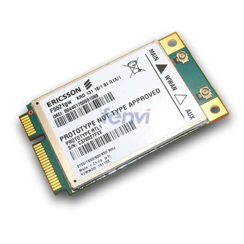 New Universal Ericsson F5521GW gobi3000 Wireless 3G WWAN PCIe Card HSPA EDGE 21Mbps HSPA+ GPRS GSM Module For Dell Asus Acer(China (Mainland))
