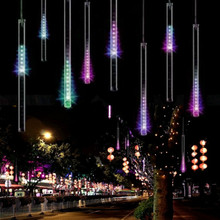 20/30/50CM Christmas Lights Outdoor Curtain LED String Lights Decoration LED Bar Lights for wedding Party Light String Outdoor(China (Mainland))