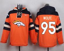 Denver Broncos Peyton Manning,Von Miller,DeMarcus Ware,Demaryius Thomas,Derek Wolfe,Paxton Lynch customizable Sweater hoodies(China (Mainland))