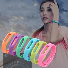 Buy Colorful Silicone Replacement Wrist Band Bracelet Wrist Strap Wristband Belt Protective Case Xiaomi Smartband Mi Band Miband for $1.01 in AliExpress store