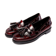 34-41 Sale driving shoes women Flats for Women 2016 new Shoes full grain Leather tassels large size Shoes Women's all Leather(China (Mainland))