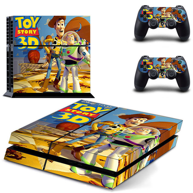 New Toy Story 4 : New toy story d for sony playstation ps console skin