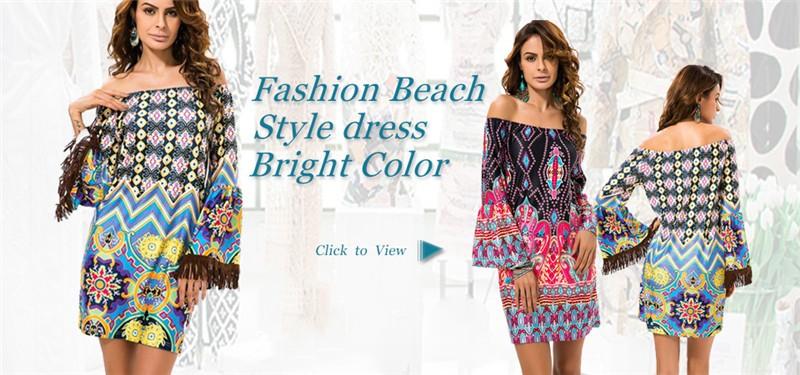 HTB1Qt37MVXXXXXtXpXXq6xXFXXXj - Summer Women Dress Vestidos Print Casual Low Price