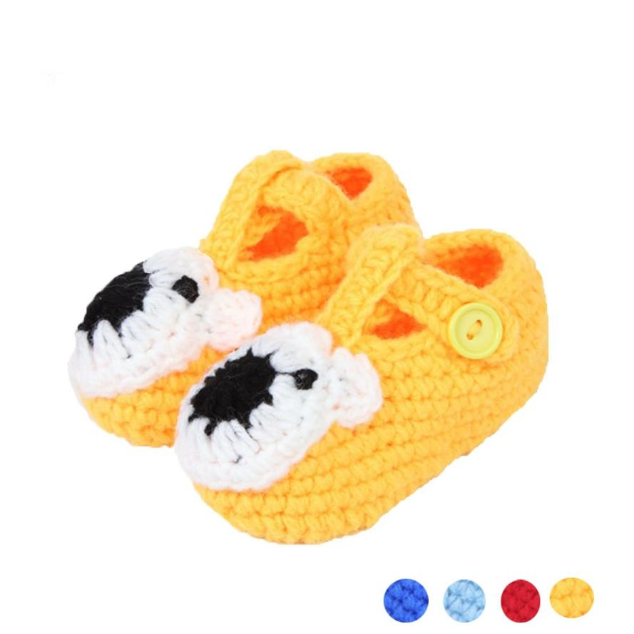 Delicate Crochet Casual Cute Durable Warm Baby Handmade Knit Sock Infant Shoes or5918(China (Mainland))