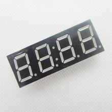 2 pcs Common Anode 4bit 4 bit Digital Tube 0.56 inch Red LED With Clock Digit 7 Segment (CLOCK)(China (Mainland))