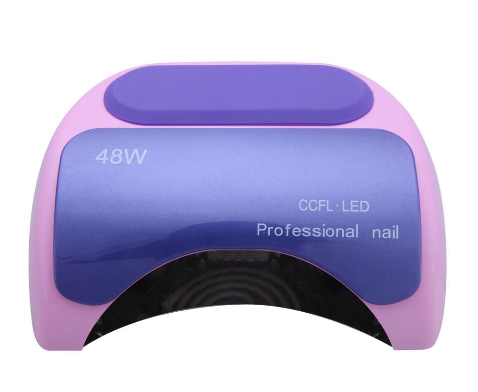 Nail polish gel tools Professional CCFL 48W LED UV Lamp Light 110-220V Nail Dryer with Automatic nail tools<br><br>Aliexpress