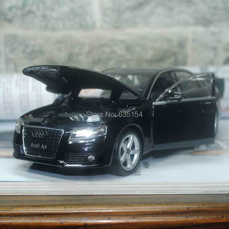 Free Shipping Wholesale 3pcs/pack WELLY 1/24 Scale Car Model Toys AUDI A4 Diecast Metal Car Toy New In Box(China (Mainland))