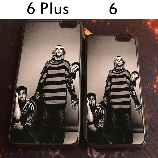delivery free 2015 Authentic rock band pattern Phone protective shell for iphone 6 and 6 Plus(China (Mainland))
